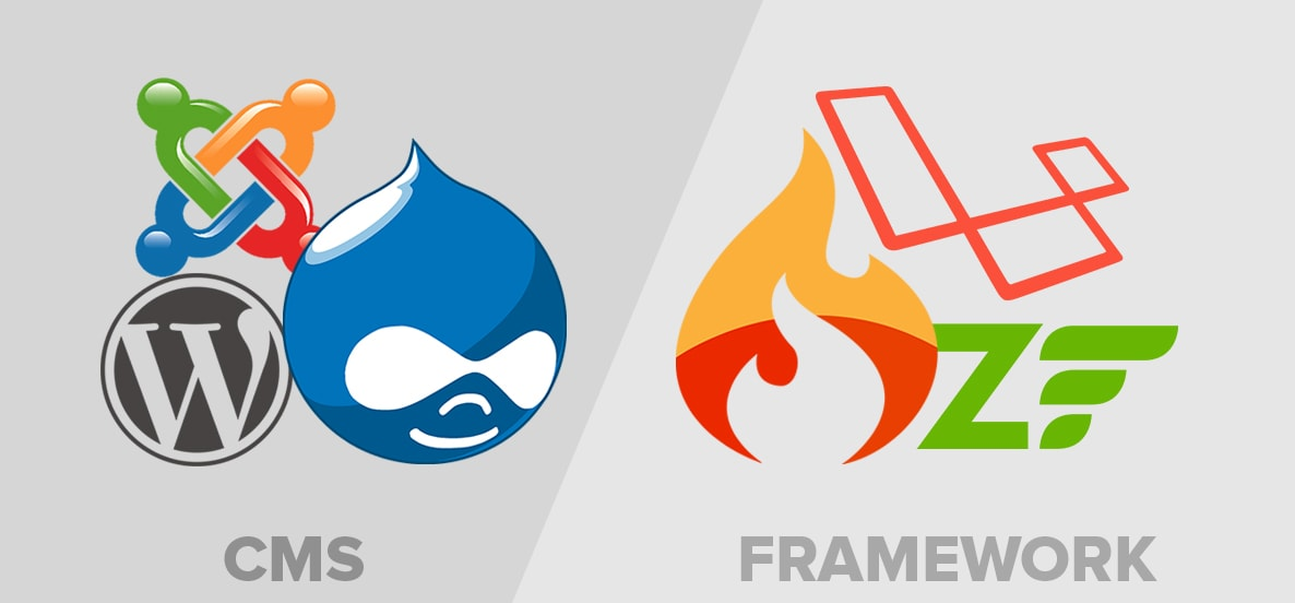 Which Technology is Better for Your Business a CMS or PHP FRAMEWORK