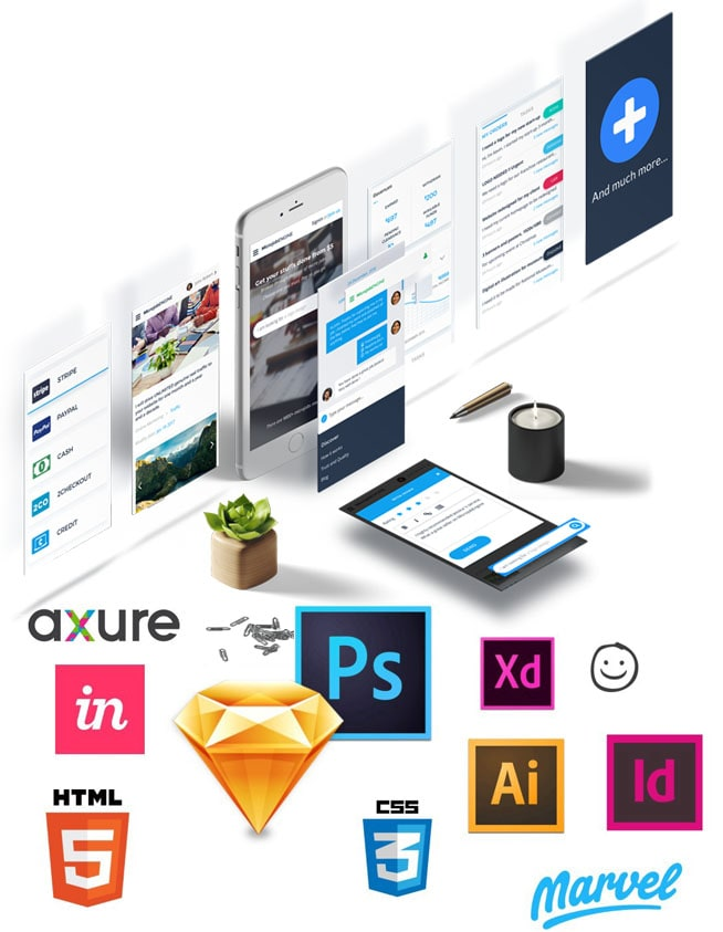 Professional UI Design Company India